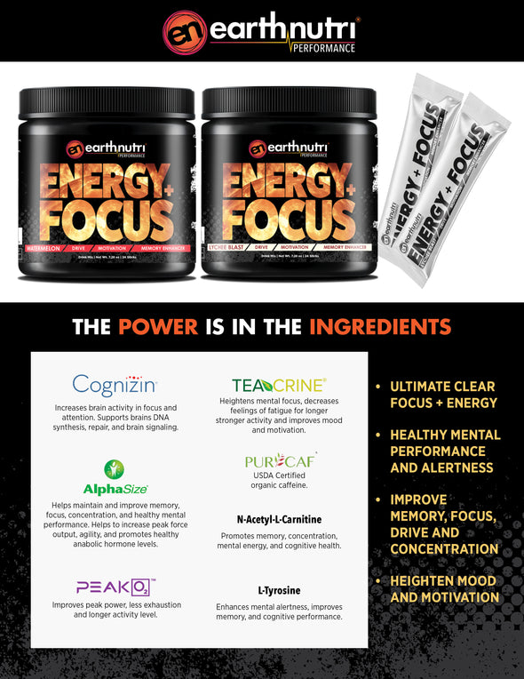 earthnutri Energy+Focus Product Info