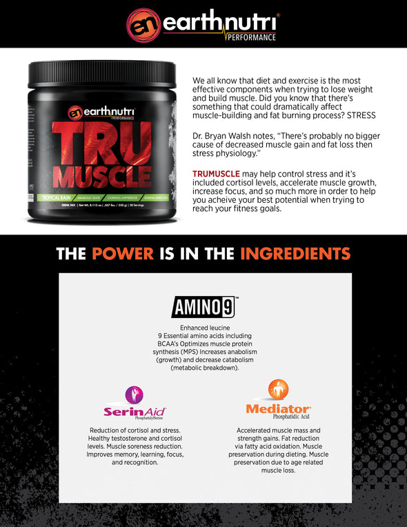 earthnutri - TruMuscle - Product Info