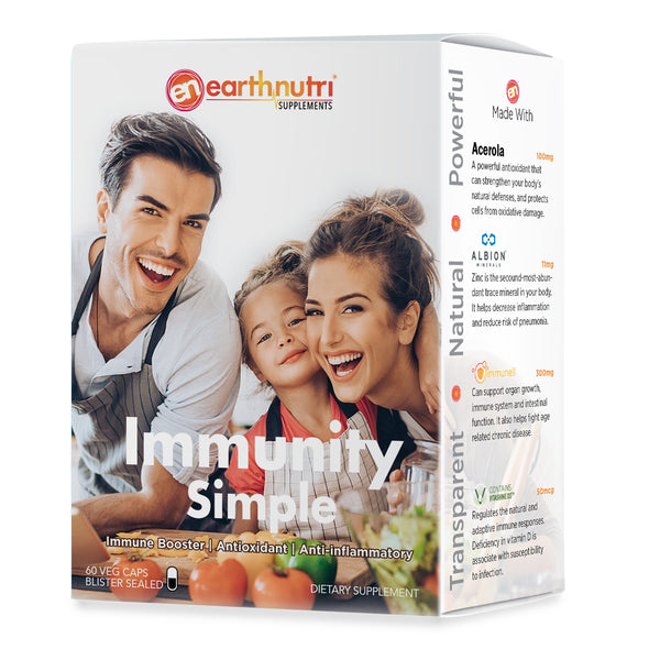 Immunity Simple 4-in-1 | Immune-Booster Vitamins