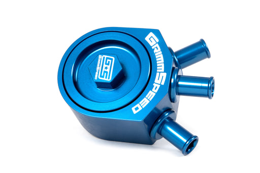 Grimmspeed Air/Oil Separator Blue Subaru 2008-2014 WRX
