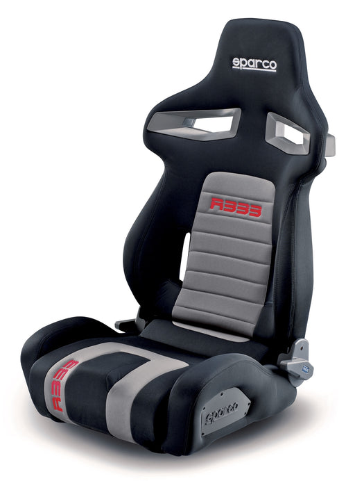 Sparco Seat R333 Street Grey/Red Reclinable Universal