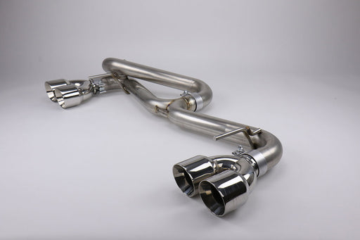 FactionFab Axle Back Exhaust w/ Polished Tips (HATCH) Subaru 2011-2014 WRX / 2008-2014 STI