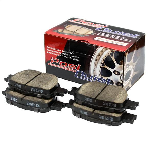StopTech Posi Quiet Ceramic Rear Brake Pads Subaru 2008-2018 WRX / 2013-2019 BRZ