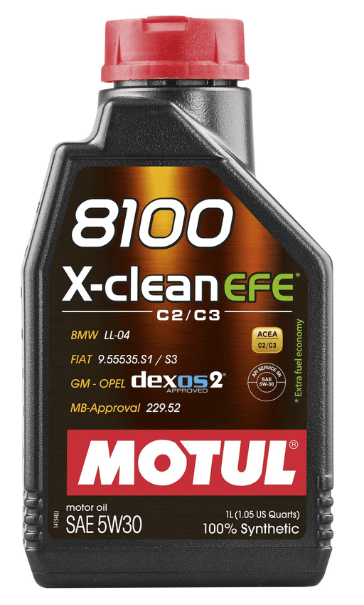 Motul 8100 X-Clean EFE 5W30 Engine Oil 1L Universal