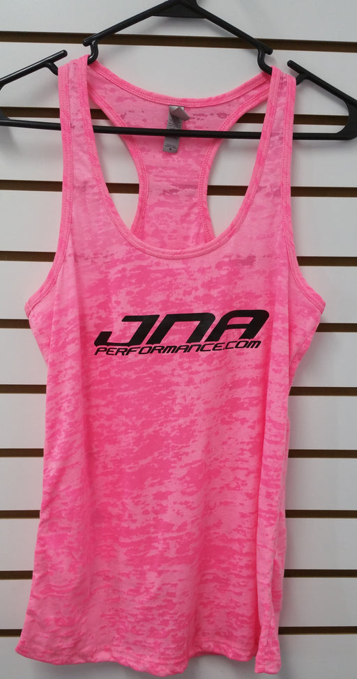 JNA Performance Ladies Racerback Tank Top Pink Universal
