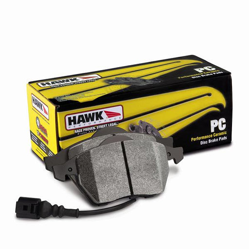 Hawk Ceramic D1004 Rear Brake Pads Subaru 2003-2005 WRX