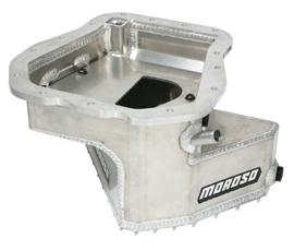 Moroso Aluminum Competition Oil Pan w/ Pickup 5.0 Quart Capacity Subaru 2002-2007 WRX / 2004-2007 STI