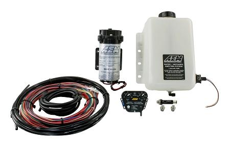 AEM Water/Methanol Injection Kit V2 (up to 35psi) w/ 1 Gallon Tank Universal