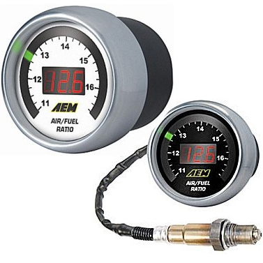 AEM 52mm O2 Wideband Gauge Universal