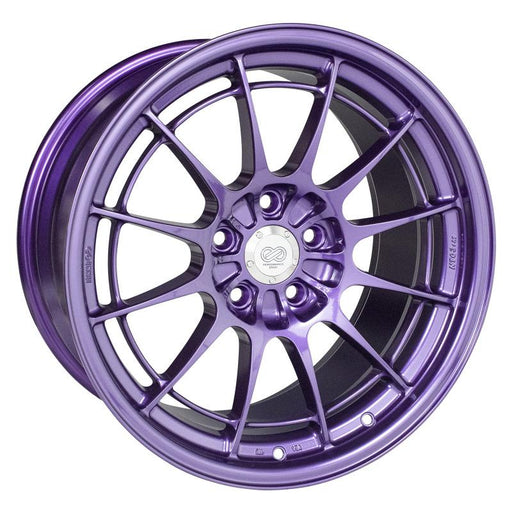 Enkei NT03+M 18x9.5 5x114.3 40mm Offset 72.6mm Bore Purple Wheel Universal