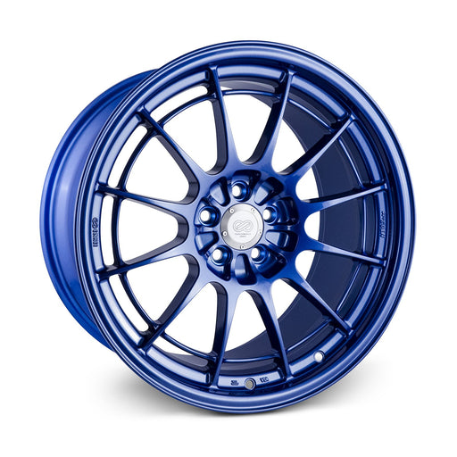 Enkei NT03+M 18x9.5 5x100 40mm Offset Victory Blue Wheel Universal