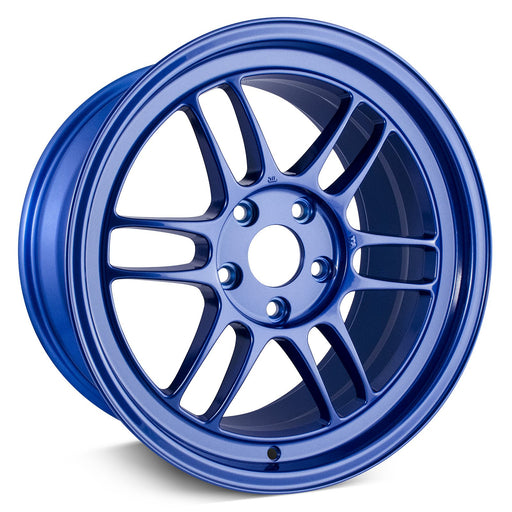 Enkei RPF1 17x9 5x114.3 45mm Offset 73mm Bore Victory Blue Wheel Universal