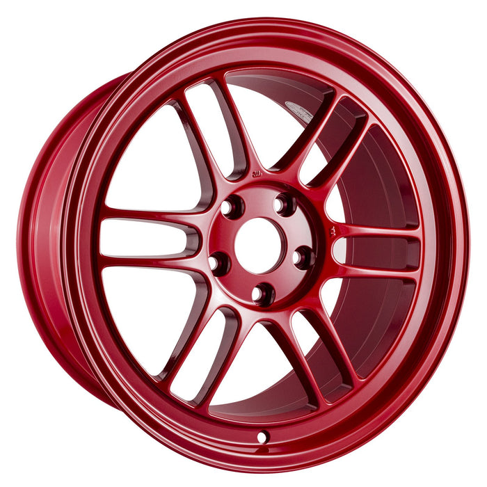 Enkei Enkei RPF1 18x9.5 5x114.3 38mm Offset 73mm Bore Competition Red Wheel Universal