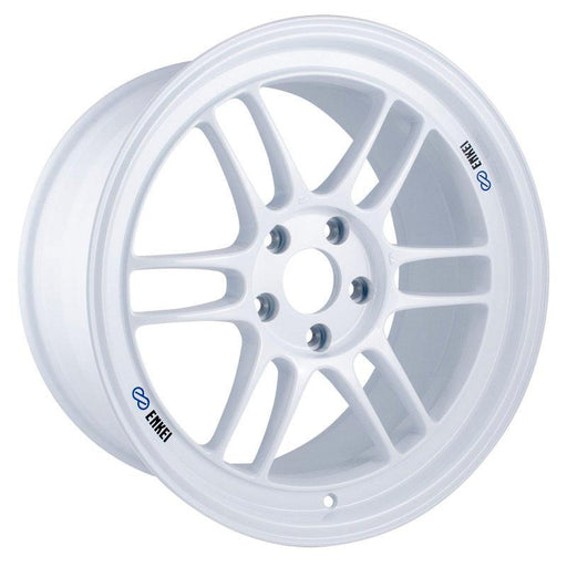 Enkei RPF1 18x9.5 5x114.3 38mm Offset 73mm Center Bore Vanquish White Wheel Universal