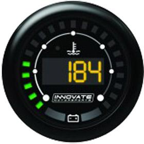 Innovate Motorsports 52mm MTX-D Dual Function Water Temperature / Battery Voltage Gauge Universal