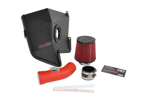 GrimmSpeed Cold Air Intake System Red Subaru 2002-2007 WRX / 2004-2007 STI