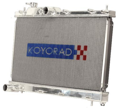 Koyo Aluminum Racing Radiator Manual Transmission Subaru 2008-2018 WRX / 2008-2019 STI