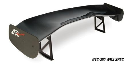 "APR Performance GTC-300 61"" Carbon Fiber Adjustable Wing Subaru 2002-2007 WRX / 2004-2007 STI"
