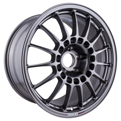 Enkei RCT5 18x9.5 5x114.3 38mm Offset 70mm Bore Dark Silver Wheel Universal