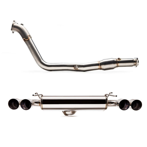 "Cobb Tuning 3"" Stainless Steel Turboback Exhaust (HATCH) Subaru 2011-2014 WRX / 2008-2014 STI"