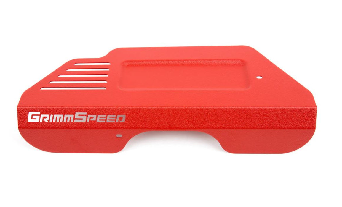 GrimmSpeed Pulley Cover Red Subaru 2013-2019 BRZ