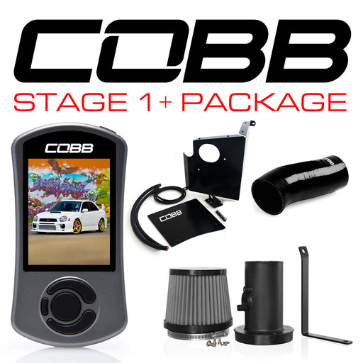 Cobb Tuning Stage 1+ Power Package w/ V3 Accessport Subaru 2002-2005 WRX