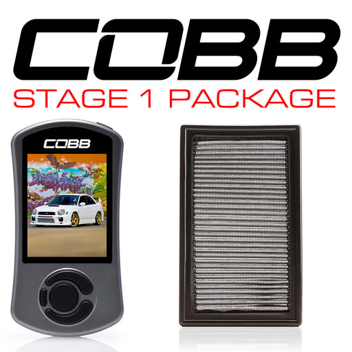 Cobb Tuning Stage 1 Power Package w/ V3 Accessport Subaru 2002-2005 WRX