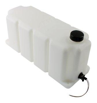 AEM Water/Methanol Injection Tank V2 with Conductive Fluid Level Sensor 5 Gallons Universal