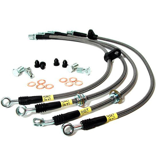 StopTech Stainless Steel Front Brake Lines Subaru 2006-2007 WRX / 2004-2007 STI