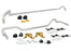 Whiteline Front And Rear Sway Bar 24mm Kit w/ Endlinks Subaru 2007 STI