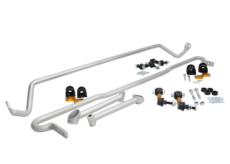 Whiteline Front And Rear Sway Bar 22mm Kit w/ Endlinks Subaru 2011-2014 WRX / 2008-2014 STI