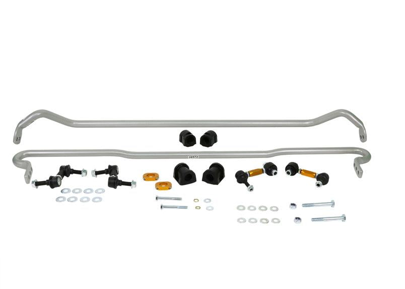 Whiteline Front 26mm And Rear 22mm Sway Bar Kit w/ Endlinks Subaru 2015-2019 STI
