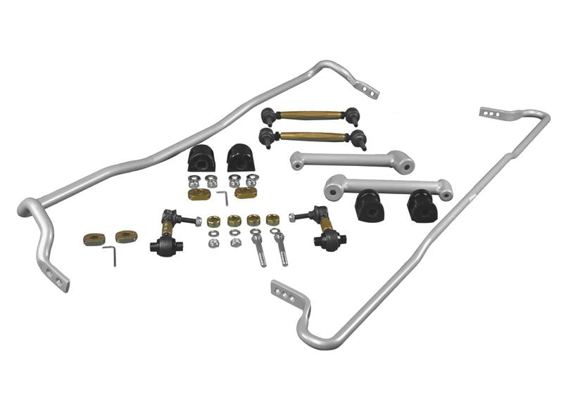 Whiteline Front 22mm And Rear 18mm Sway Bar Kit w/ Endlinks Subaru 2013-2019 BRZ