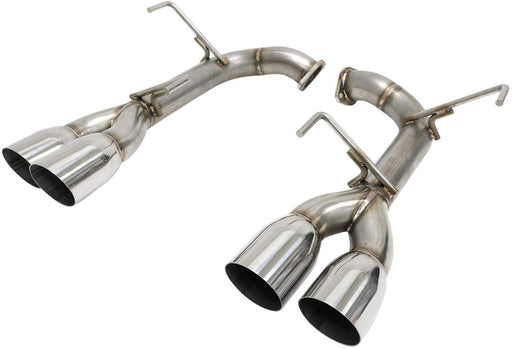 Blox Racing Axle Back Exhaust Single Wall Polished Tips Subaru 2015-2020 WRX / 2015-2020 STI