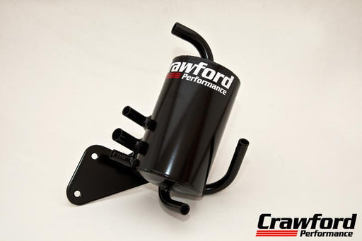 Crawford V3 Air Oil Separator For TMIC Black Subaru 2015-2018 WRX