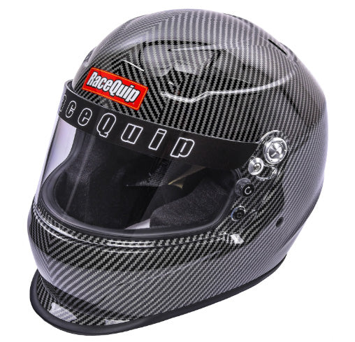 RaceQuip PRO15 Snell SA2015 Full Face Helmet Carbon Graphic Size Medium Universal
