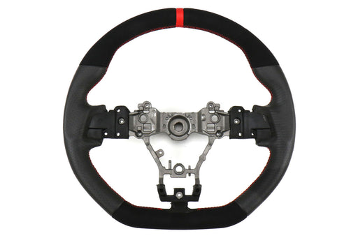 FactionFab Steering Wheel Leather And Suede Subaru 2015-2020 WRX / 2015-2020 STI