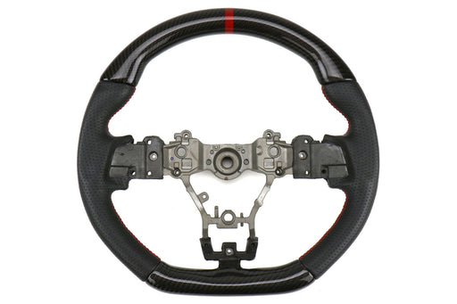 FactionFab Steering Wheel Carbon And Leather Subaru 2015-2020 WRX / 2015-2020 STI