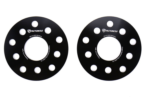 FactionFab 5x100/ 5x114.3 5mm 6061-T6 Forged Wheel Spacers (set of 2) Subaru 2015-2020 WRX / 2005-2020 STI