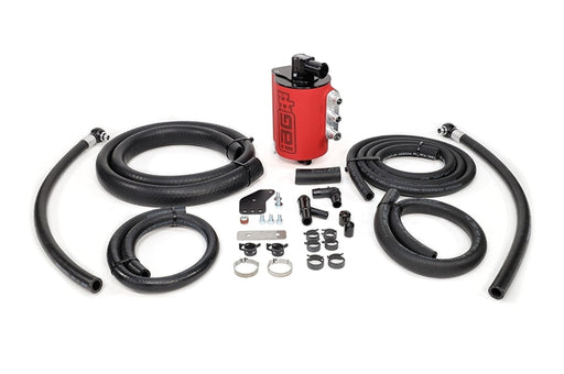 IAG Performance V3 Competition Series Air/Oil Separator (AOS) Red Subaru 2008-2014 WRX / 2008-2020 STI