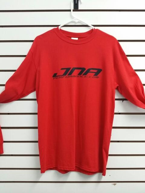 JNA Performance Long Sleeve T-Shirt Red Universal