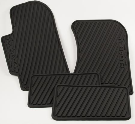Subaru OEM All Weather Floor Mat Set Subaru 2008-2014 WRX / 2008-2014 STI