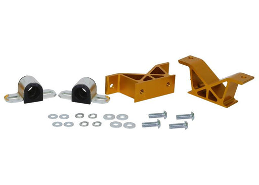 Whiteline 20mm Rear Sway Bar Mounts Forged Aluminum Mount Kit Subaru 2002-2007 WRX / 2004-2007 STI