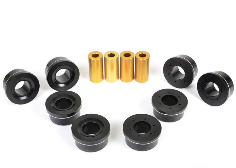 Whiteline Rear Subframe Positive Traction Bushings Subaru 2008-2014 WRX / 2008-2014 STI