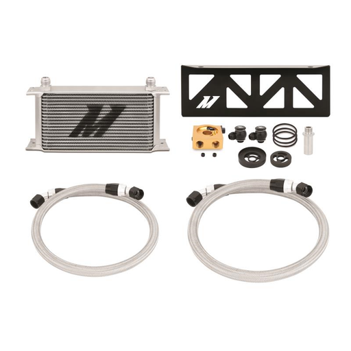 Mishimoto Thermostatic Oil Cooler Kit Silver Subaru 2013-2019 BRZ