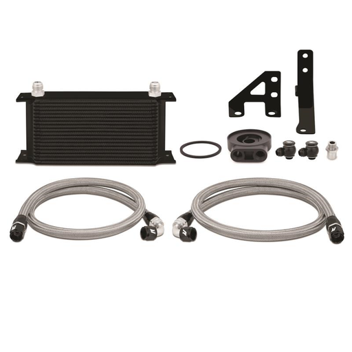 Mishimoto Oil Cooler Kit Black Subaru 2015-2018 WRX