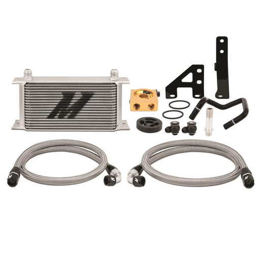 Mishimoto Thermostatic Oil Cooler Kit Silver Subaru 2015-2018 WRX