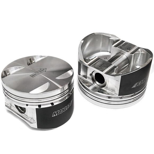 Manley Piston Set 100mm (+.5mm) Overbore, 8.5.1 Comp. Ratio Dish Pistons w/ Rings Subaru 2006-2014 WRX / 2004-2019 STI