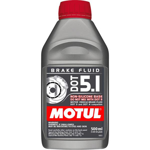 Motul Brake Fluid Synthetic DOT 5.1 500ML Universal