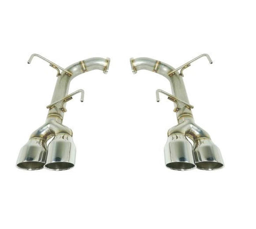 Remark Axle Back Exhaust w/ Stainless Double Wall Tips 4 Inch Subaru 2015-2020 WRX / 2015-2020 STI